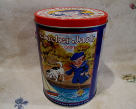 Cracker Jack Popcorn Tin Vintage Souvenir Collectible Collector Baseball... - $19.95