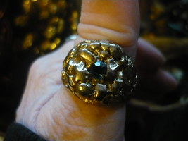 HAUNTED RARE DJINN FROM THE OF SAKYA MONSTERY IN TEBIT VINTAGED RING SIZ... - $350.00
