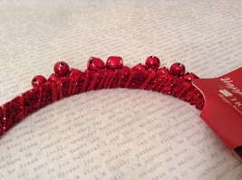 Jingle bell fashion head wear band choice of color way silver red green headband image 6