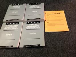 2006 Dodge Viper Service Shop Repair Workshop Manual Set Oem W Recall Bulletin - $286.10