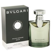 Bvlgari Pour Homme Soir by Bvlgari Eau De Toilette Spray 1.7 oz - $43.95