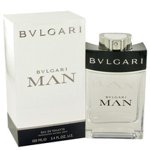 Bvlgari Man by Bvlgari Eau De Toilette Spray 3.4 oz - $54.95