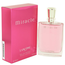 MIRACLE by Lancome Eau De Parfum Spray 3.4 oz - $73.95
