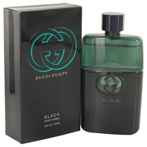 Gucci Guilty Black by Gucci Eau De Toilette Spray 3 oz - $86.95