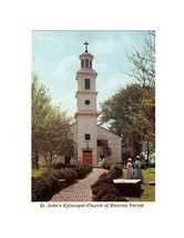 POSTCARD-OLDEST CHURCH IN RICHMOND VA, ST. JOHN'S EPISCOPAL CHURCH  BK8 - $3.88