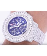 29 carats iced out CUSTOM diamond gents watch B... - $19,354.50
