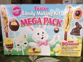 Wilton Easter Spring Candy Lollipop Making Kit Mega Pack Contains 3 Mold... - ₨908.34 INR