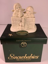Department 56 Snowbabies 56-69140 Two Little Angels Collectible Figurine - $23.99