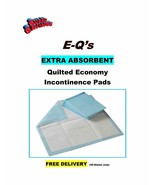 """300-17x24"""" Quilted Adult Incontinence Pads EXTRA  ABSORBENT 20gr - $34.75"""