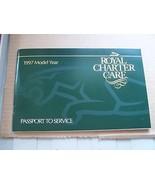 1997 Jaguar owners passport to Service Maintenance schedule Booklet Manu... - $39.99