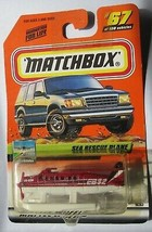 Matchbox 2000 Logo SEA RESCUE PLANE #67 Chase Limited Edition MOSC Rare - $4.85