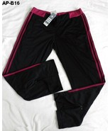 Adidas Performance Size Adult Womens Large Black Spa Yoga Athletic Pants... - $16.99
