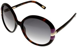 Marc Jacobs Sunglasses Women Dark Havana Violet Gold Round MJ274/S TC1LF  - $226.71