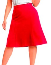 DBG Women's Slim Lady High Waisted A Line Skirt Large Magenta - $25.73