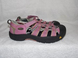 Keen Waterproof PINK/VIOLET Black Sport Hiking Trail Sandals 6 Used - $49.49