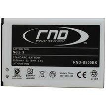 RND Li-Ion Battery (B800BK) for Samsung Galaxy Note 3 - $17.99
