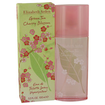 Green Tea Cherry Blossom by Elizabeth Arden Eau De Toilette Spray 3.3 oz - $19.95
