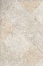 Two Tone Beige Diamonds with a Thin Gold Grout ... - $16.62