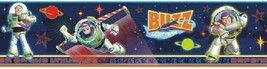 Disney Toy Story Buzz Lightyear 3-D with Glasses Peel & Stick Border DS026458 - $12.22