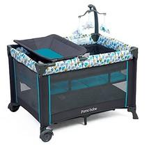Pamo Babe Deluxe Nursery Center ,Portable Playard with Comfortable Mattr... - $139.22