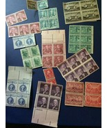 Vintage Mixed Lot Of US Postage Stamps  - $49.49