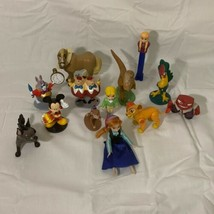 Disney Figure lot (13) Frozen, Lion King, Alice In Wonderland,Mickey, And More! - $12.86