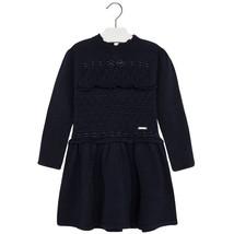 Mayoral Little Girl Long-Sleeve Angora Blend Mix Knit Sweater Dress