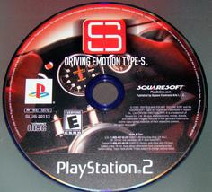Playstation 2   Driving Emotion Type S (Game Only) - $8.00