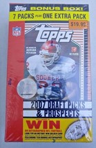 2007 DRAFT PICKS & PROSPECTS SEALED TOPPS BOX ADRIAN PETERSON ROOKIE 8 P... - $96.74