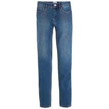 Mayoral Big Girl Tween Sparkle Skinny Jean Denim Trousers Pants