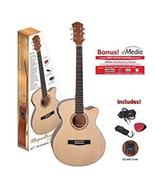 """Spectrum AIL 265AE 40"""" Cutaway Acoustic/Electric Guitar with 4 Band EQ, ... - $103.46"""