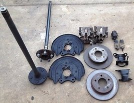 1979-1993 Ford Mustang Front/Rear 5 Lug Conversion with Rear Disk Brakes - $585.00