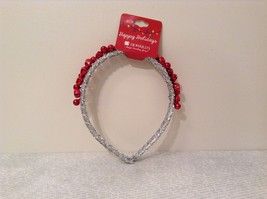 Jingle bell fashion head wear band choice of color way silver red green headband image 3