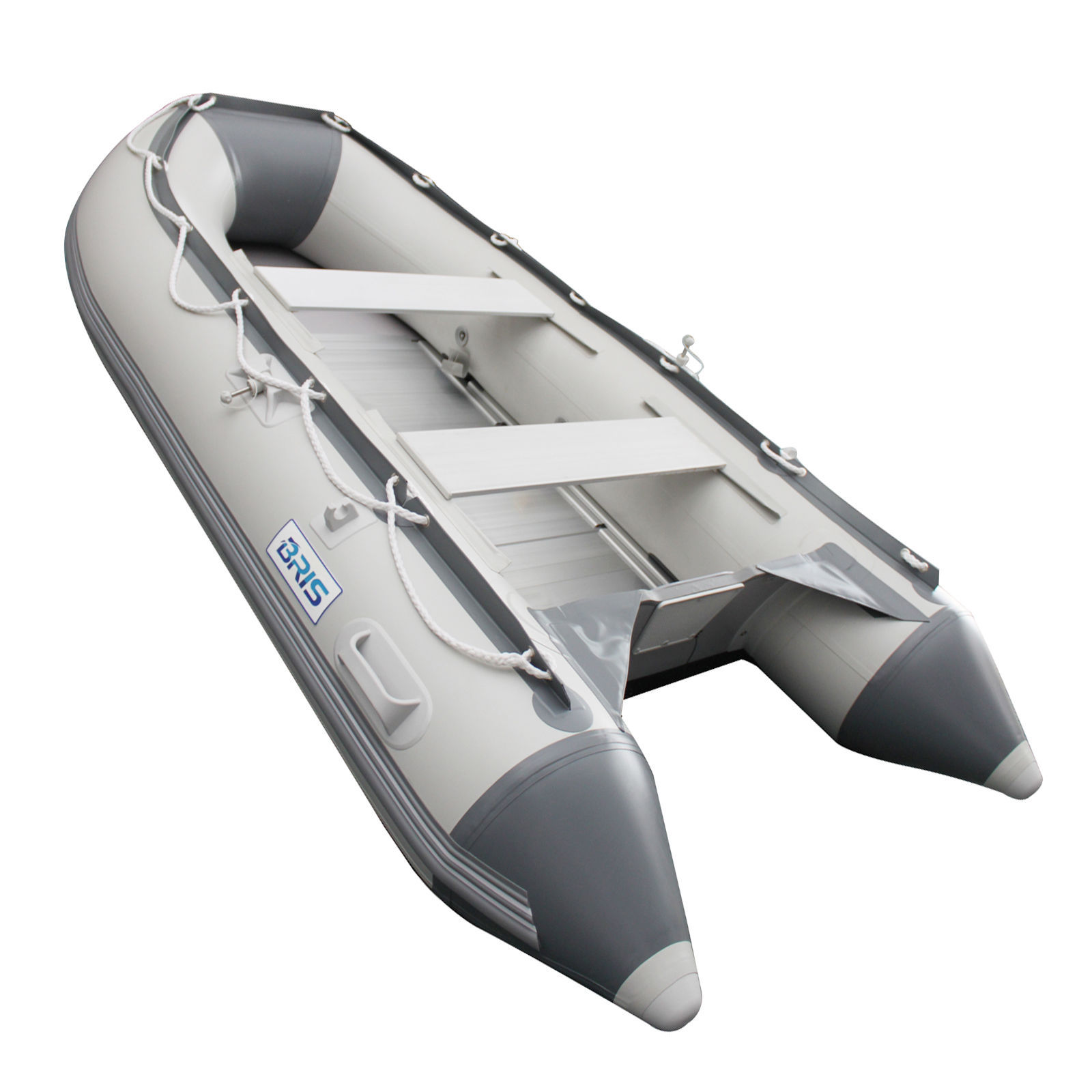 BRIS 9.8 ft Inflatable Boat Yacht Tender Fishing Raft Dinghy Pontoon Boat