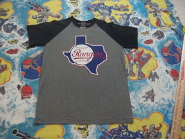 MLB vintage style TEXAS RANGERS BASEBALL throwback Cooperstown T Shirt M - $18.75