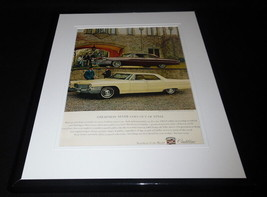 1963 Cadillac Sedan De Ville 11x14 Framed ORIGINAL Vintage Advertisement - $41.71