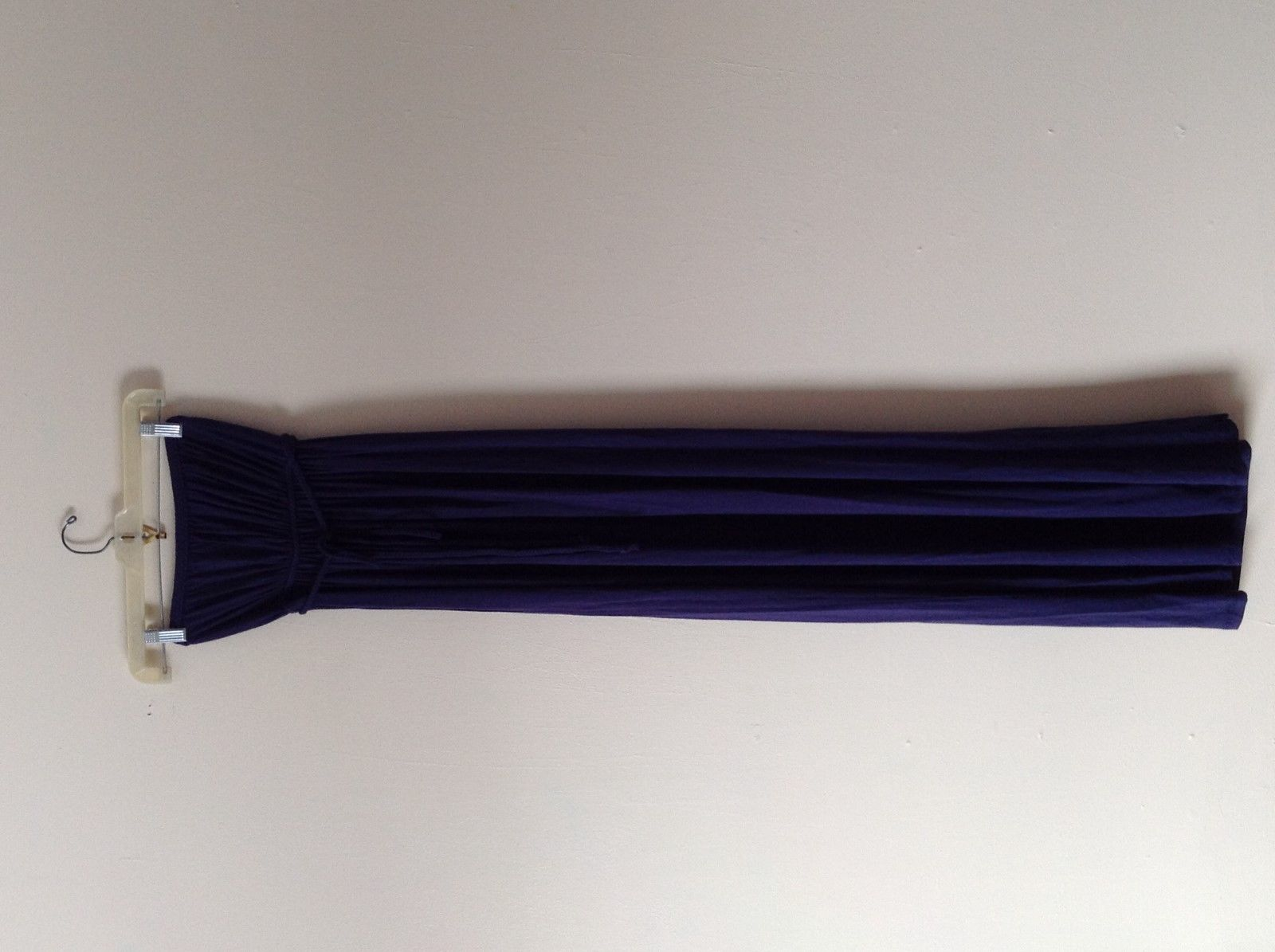 Women navy blue Maxi dress straplesse Tart