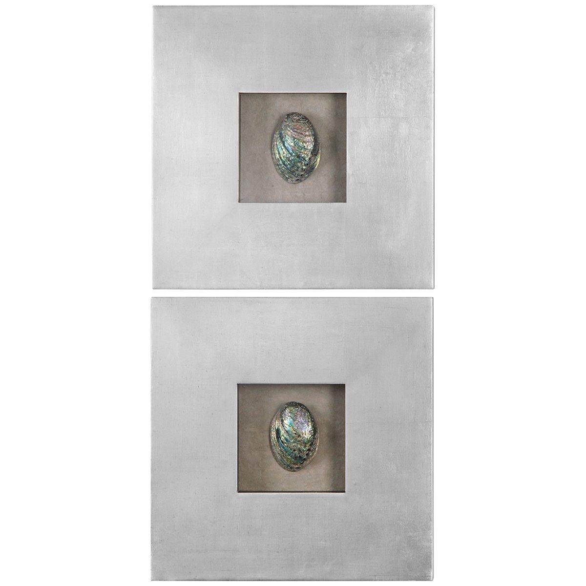 abalone shells silver