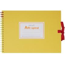 Maruman Art Spiral Sketch Book F1 Yellow - $11.11
