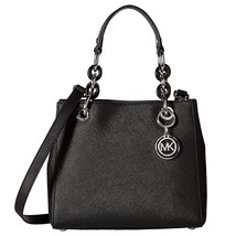 MIchael Kors Cynthia Small Saffiano Leather Sat... - $239.99