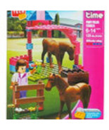 Block Tech Girl Time Pony Field Stables (125 pieces) - $8.99