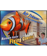 Air Swimmers NEW RC Remote Control Flying Clownfish Toy Kids - $27.49