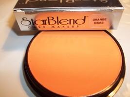 Mehron Orange Star Blend Cake Pancake Water Base Stage Makeup  Professional - $12.99