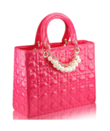 Free Shipping Patent Leather Handbags Pearl Women Purse Tote Bags,Purse ... - $42.99