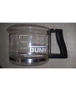 "8Q80 BUNN COFFEEPOT, 10 CUP, 9"" X 6"" X 5"" +/- OVERALL, LID IS MISSING, G... - $19.66"