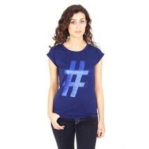 Blue 42 EUR - 6 US Emporio Armani ladies t-shirt short sleeve AGH64 CQ 35 - $405.75