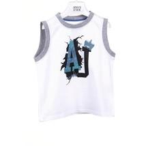 White 4A - 4 Years Armani Junior boys t-shirt CXH09 2F 10 - $219.67