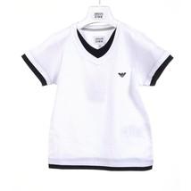 White 6A - 6 Years Armani Junior boys t-shirt CXH11 JR 10 - $319.38