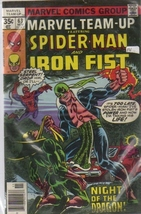 SPIDER-MAN AND THE IRON FIST (MARVEL TEAM UP - NIGHT OF THE DRAGON, N... - $42.00