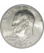 1974-P Uncirculated Eisenhower Dollar CP6509 - $5.00